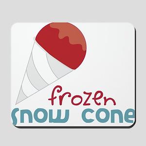 Frozen Snow Cone Mousepad