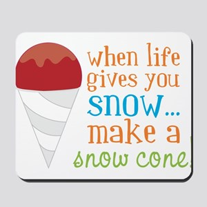 Make A Snow Cone Mousepad
