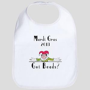 Mardi Gras 2013 Got Beads? Bib