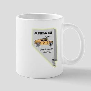 Area 51 Perimeter Patrol Mug