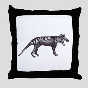 Thylacine Throw Pillow