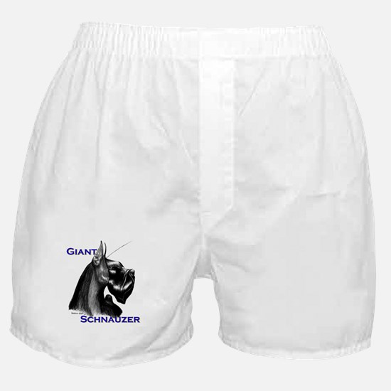 giant head to tail Boxer Shorts