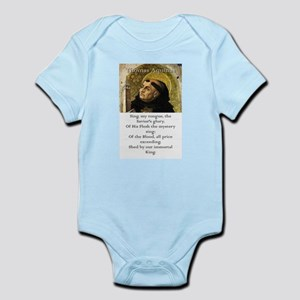Sing My Tongue - Thomas Aquinas Infant Bodysuit