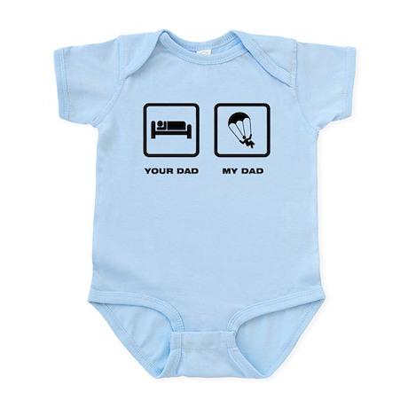 Parachuting Infant Bodysuit