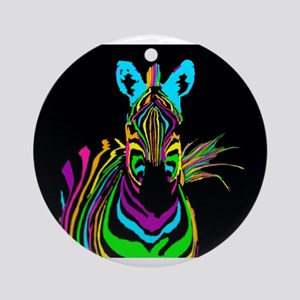 zebra Ornament (Round)