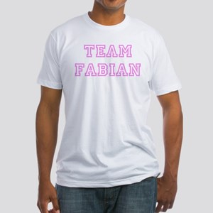 Pink team Fabian Fitted T-Shirt