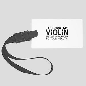 Violin Hazard Large Luggage Tag