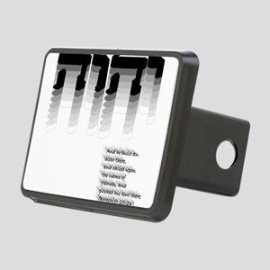 YHWH Gradient Rectangular Hitch Cover