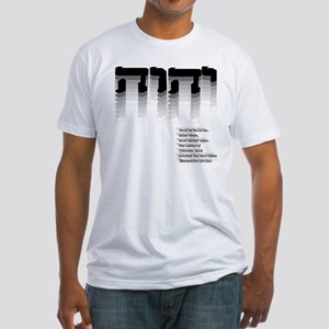 YHWH Gradient Fitted T-Shirt