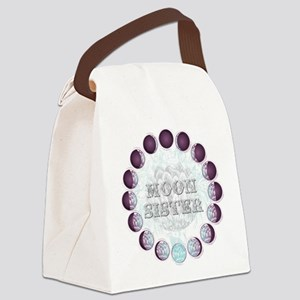 Moon Sisters Canvas Lunch Bag