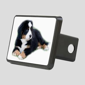 bernese-mountain-puppy_ Rectangular Hitch Cover