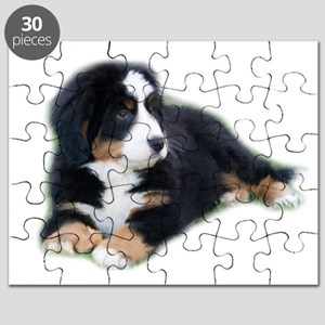 bernese-mountain-puppy_ Puzzle