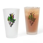 Mardi Gras - New Orleans Style Drinking Glass