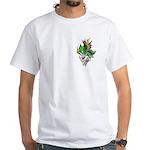 Mardi Gras - New Orleans Style White T-Shirt