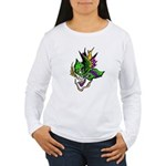 New Orleans Party Mask Women's Long Sleeve T-Shirt