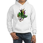 New Orleans Party Mask Hooded Sweatshirt