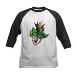 New Orleans Party Mask Kids Baseball Jersey