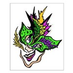 New Orleans Party Mask Small Poster