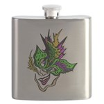 New Orleans Party Mask Flask