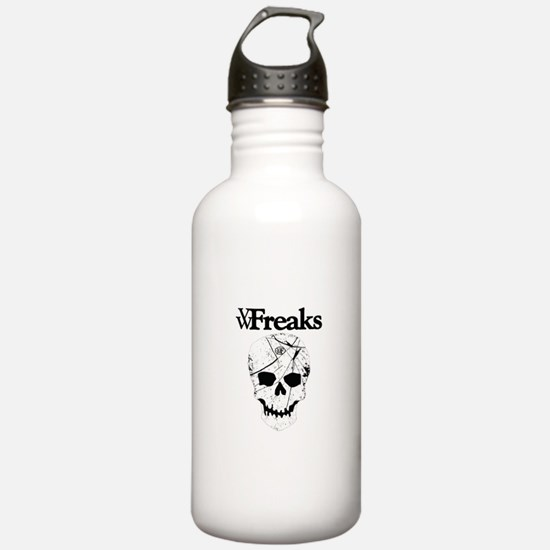 Das VW-Freaks Mascot - Branded Skull Water Bottle