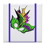 Masked - New Orleans Mardi Gras Design Tile Coaste