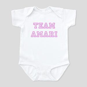 Pink team Amari Infant Bodysuit