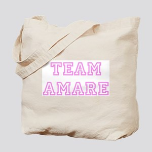 Pink team Amare Tote Bag