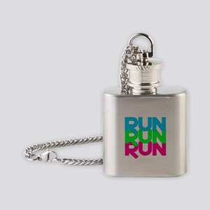 Run Run Run Flask Necklace