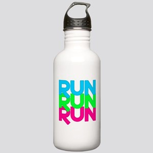 Run Run Run Stainless Water Bottle 1.0L