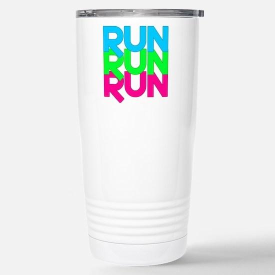 Run Run Run Stainless Steel Travel Mug