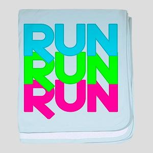 Run Run Run baby blanket