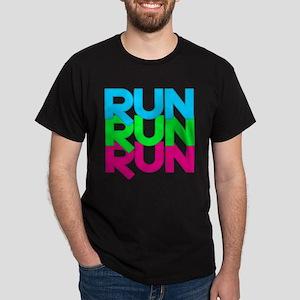 Run Run Run Dark T-Shirt