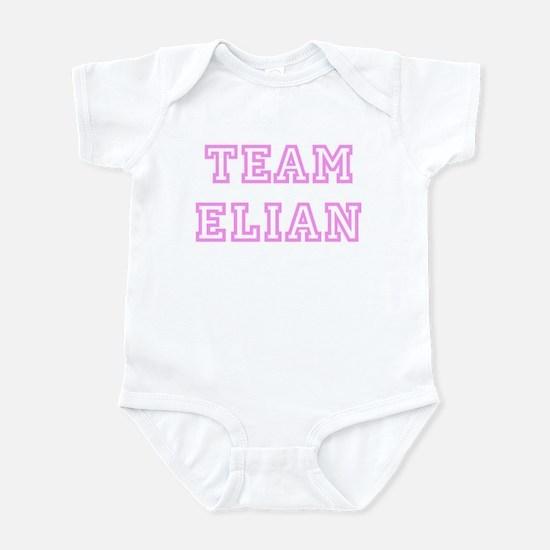 Pink team Elian Infant Bodysuit