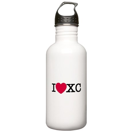 shrunk i love xc.jpg Stainless Water Bottle 1.0L