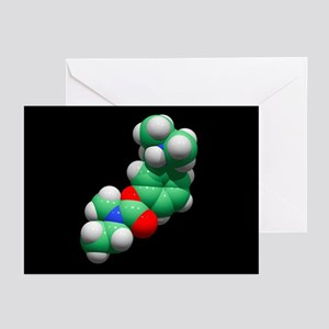 Rivastigmine Alzheimer's drug - Greeting Cards (Pk