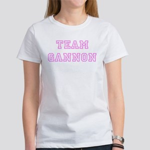 Pink team Gannon Women's T-Shirt
