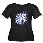 Join Fight Stomach Cancer Women's Plus Size Scoop
