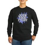 Join Fight Stomach Cancer Long Sleeve Dark T-Shirt