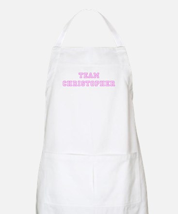 Pink team Christopher BBQ Apron