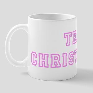 Pink team Christopher Mug