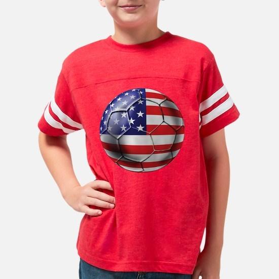 USA Soccer Ball Youth Football Shirt