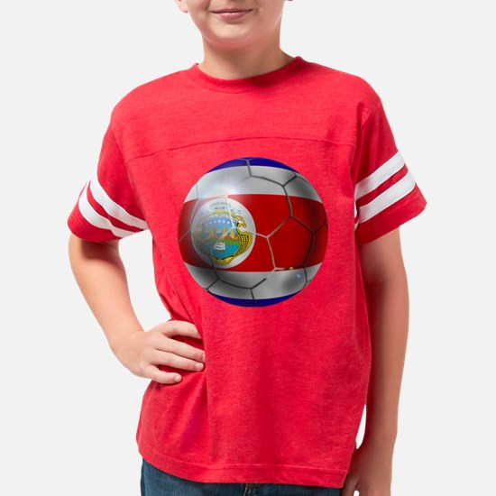 Costa Rica Soccer Ball Youth Football Shirt