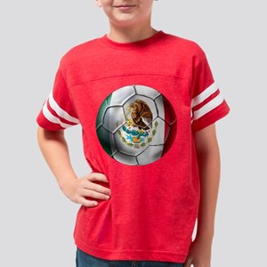 Mexican Soccer Ball Youth Football Shirt