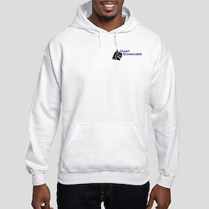 large version on back Hooded Sweatshirt