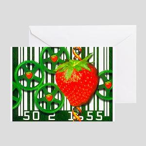 Conceptual image of genetically-engineered fruit -