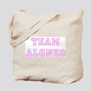 Pink team Alonzo Tote Bag