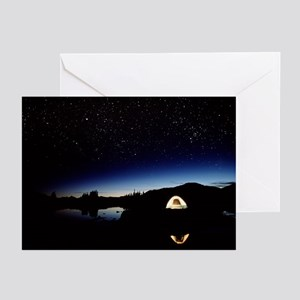 Campsite in Canada - Greeting Cards (Pk of 20)