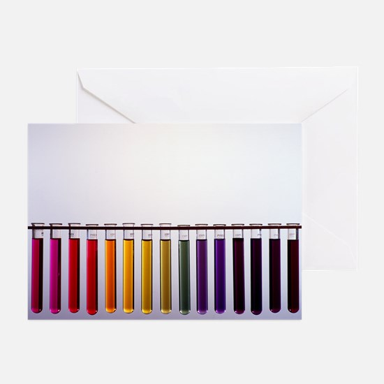 Universal indicator scale - Greeting Cards (Pk of