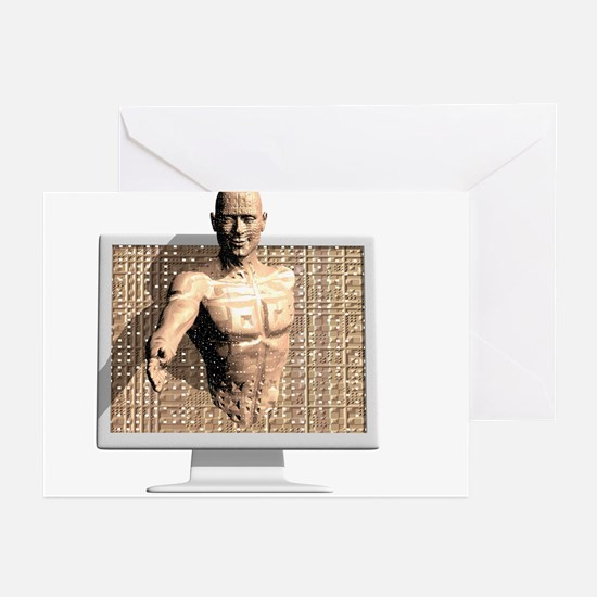 Artificial intelligence - Greeting Cards (Pk of 20