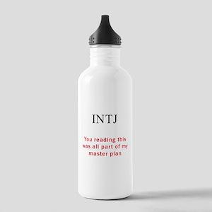INTJ Plan Stainless Water Bottle 1.0L